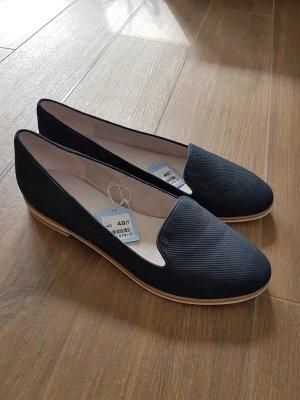 Pesaro Slip-on Shoes dark blue-blue leather