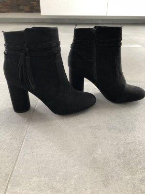 H&M Borceguíes negro