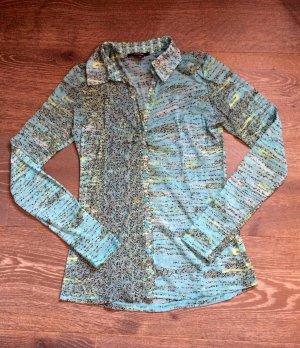 Halbtransparente Bluse