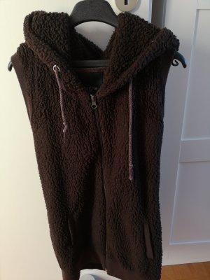 Madonna Wool Jacket dark brown