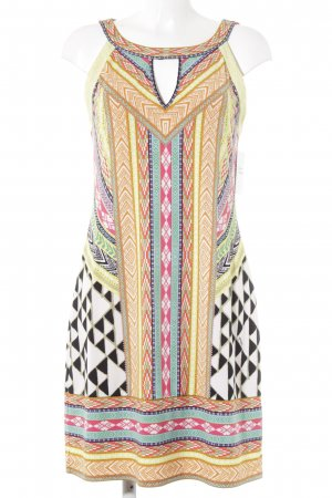 Hale Bob Vestido cut out estampado azteca look casual