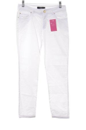 Hallhuber 7/8 Jeans weiß Casual-Look