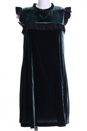 Hallhuber A-Linien Kleid khaki Business-Look