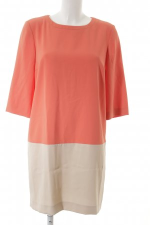 Hallhuber A-Linien Kleid apricot-creme Casual-Look