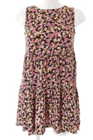Hallhuber A-Linien Kleid Blumenmuster Casual-Look