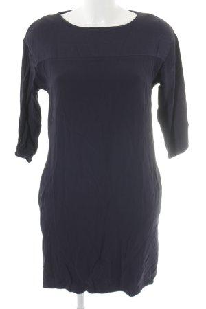 Hallhuber A-Linien Kleid dunkelblau Casual-Look