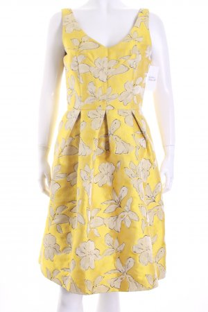 Kleid gelb hallhuber
