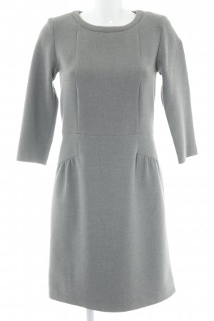 Hallhuber A-Linien Kleid grau Business-Look