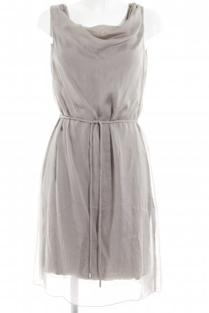 Hallhuber A Line Dress grey brown elegant