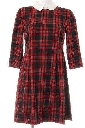 Hallhuber A-Linien Kleid Karomuster Brit-Look