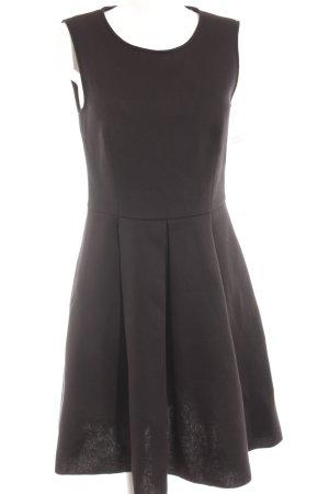 Hallhuber A-Linien Kleid schwarz Elegant