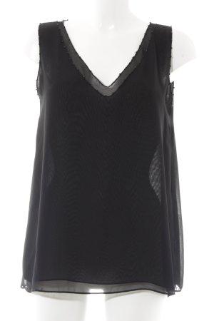 Hallhuber A-Linien Top schwarz Elegant