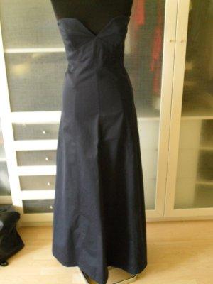 HALLHUBER Abendkleid Gr. 36 dunkelblau top Zustand