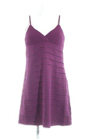Hallhuber Abendkleid purpur Elegant
