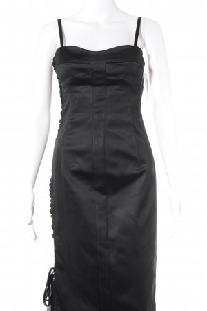 Hallhuber Abendkleid schwarz extravaganter Stil