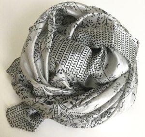 Hallhuber Pañuelo de seda gris claro Seda