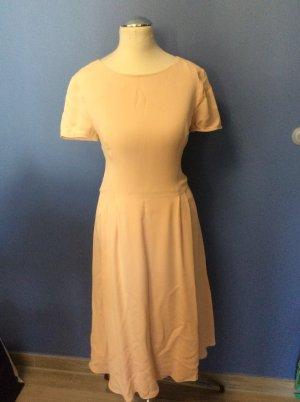 Hallhuber Altrosa  Kleid Gr 36