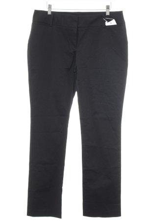 Hallhuber Pantalón de vestir negro estilo «business»