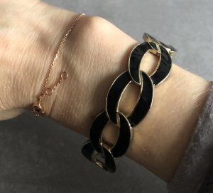 Hallhuber Bangle black-gold-colored