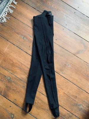 Hallhuber Strapped Trousers black-white