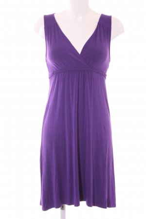 Hallhuber Robe Babydoll violet style décontracté