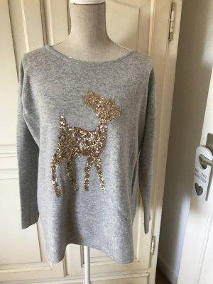 Hallhuber Bambi Blogger Pullover Wolle/Kasmir 129€