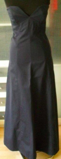 Hallhuber Bandeau Kleid dunkelblau Gr. 36 top