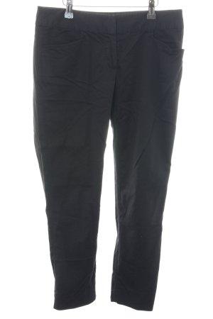 Hallhuber basic 7/8-Hose schwarz schlichter Stil
