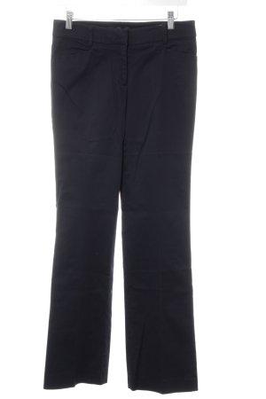 Hallhuber basic Anzughose schwarz Business-Look