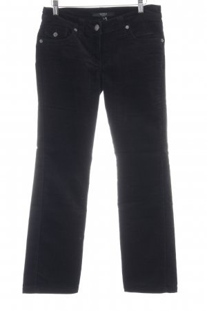 Hallhuber basic Corduroy Trousers black casual look