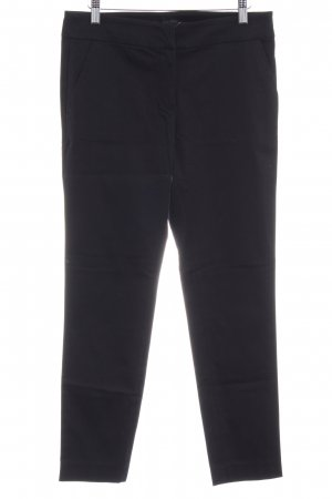 Hallhuber basic Low-Rise Trousers black business style