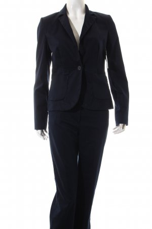Hallhuber basic Ladies' Suit dark blue business style