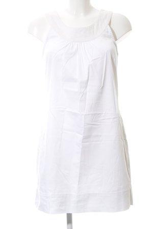 Hallhuber basic Minikleid weiß Casual-Look