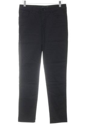 Hallhuber basic Drainpipe Trousers black elegant