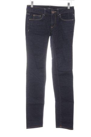 Hallhuber basic Slim Jeans dunkelblau Casual-Look