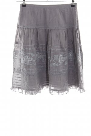 Hallhuber basic Broomstick Skirt light grey casual look