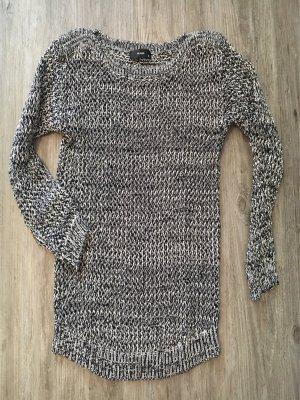 HALLHUBER Baumwollpullover Schwarz Weiß