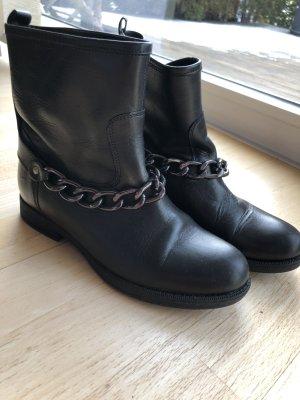 Hallhuber biker boots