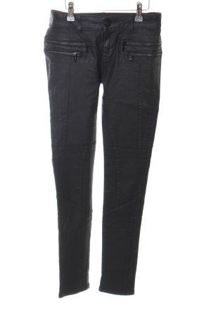 Hallhuber Biker Jeans black casual look