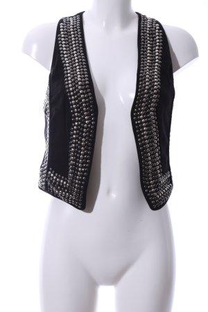 Hallhuber Biker Vest black extravagant style