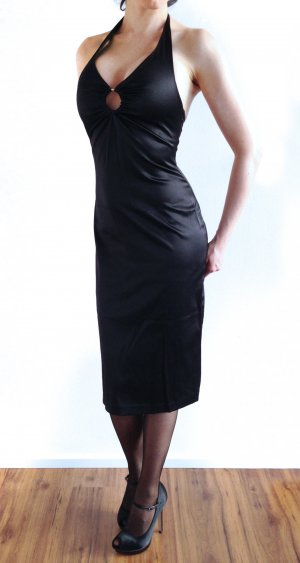Hallhuber Halter Dress black