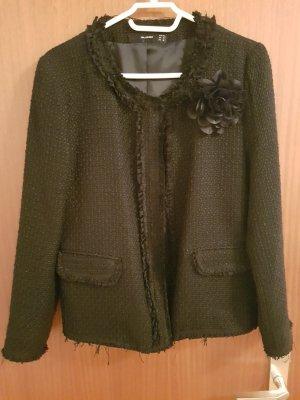 Hallhuber Wool Blazer black