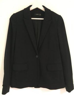 Hallhuber Jersey Blazer black viscose