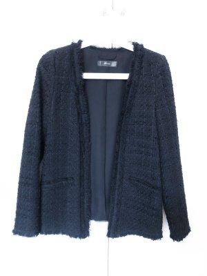 Hallhuber Tweed Blazer black