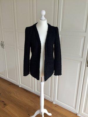 Hallhuber Tweed blazer zwart