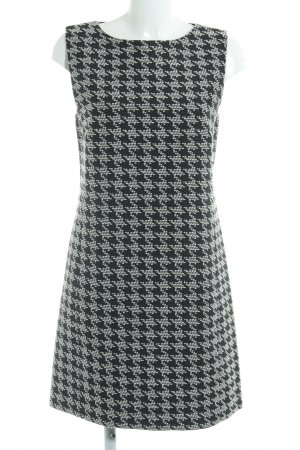 Hallhuber Pencil Dress black-white mixed pattern business style