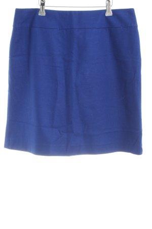 Hallhuber Bleistiftrock blau Casual-Look