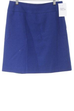 Hallhuber Bleistiftrock blau Business-Look
