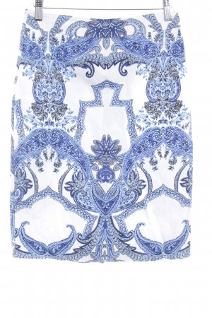 Hallhuber Bleistiftrock Ornamentenmuster Elegant
