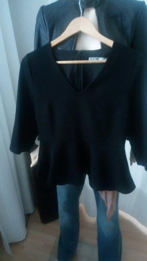 Hallhuber Bluse 38 schwarz
